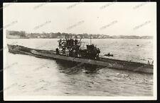 Foto-AK-U-Boot-Klasse-Typ-IX-Kriegsmarine-Unterseeboot-Submarine-2.WK