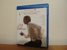 12 YEARS A SLAVE Blu Ray - No UV Code - I combine shipping