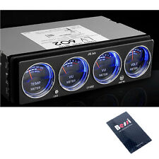 [made In Korea] JB.Lab CarAudio Analog Level Meter-Voltage Temperature Dual LED