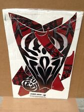 AMR Graphic Kit Decal CLOSE OUT - Can-Am Spyder Hood/Fender - Widow Maker Red