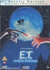E.T. THE EXTRA TERRESTRIAL DVD ET Steven Spielberg Original UK Release Sealed
