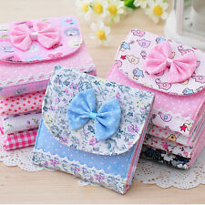 Girl Cute Sanitary Napkin Towel Pads Small Bag Purse Holder Organizer