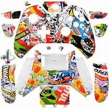 Wireless Controller Full Housing Shell Case for XBox One Sticker Bomb
