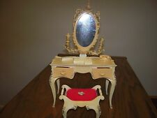 Vintage Suzy Goose Barbie Vanity Bench Set