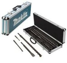 Makita D-42391 Drill and Chisel Set SDS Plus 10 Pieces in Case