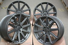 "18"" GM HUB v10 CERCHI IN LEGA SI ADATTA VW CADDY EOS GOLF JETTA PASSAT SCIROCCO SHARAN"