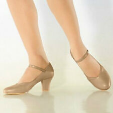 "So Danca CH52 Women's Size 5M Tan 2"" Heel Character Shoe (WITH DEFECTS)"