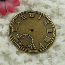 Free Ship 24 pieces bronze plated clock spacer 43mm #1325