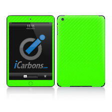 iPad Mini Skin - Green Carbon Fibre skin by iCarbons