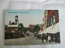 "VINTAGE COLOUR POSTCARD , "" MOUNT PLEASANT, TUNBRIDGE WELLS "" ."