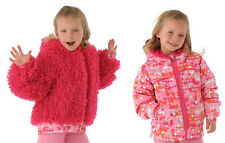 NEW Spyder Kids Bitsy High-Pile Reversible Fleece Jacket Size 4T Girls, NWT