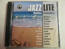 JAZZ LITE MALIBU COLLECTION VOL. 1 VARIOUS ARTISTS S/S PROMO CD SHORTY ROGERS