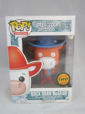 Funko POP Quick Draw McGraw Orange Chase LE RARE + Protective Sleeve