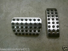 Genuine OEM Mercedes Benz M GL R Class AMG Stainless Steel Sport Pedal Pads