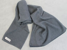H35  NWT Gorgeous Dark Gray Color Knitted 100% Pashmina Scarf Handmade In Nepal