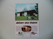 advertising Pubblicità 1976 CASE PRONTE SAIBEL - CARBONATE