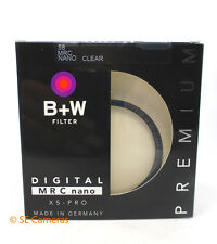 B + W 58MM DIGITAL MRC NANO 007M XSP CLEAR CAMERA LENS FILTER BNIB 1066106
