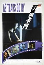AS TEARS GO BY Movie POSTER 11x17 Hong Kong