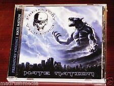 Predatory Violence: Hate Nation CD 2010 Killer Metal Recs Germany KMR-CD005 NEW