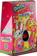 Shopkins 65g Milk Chocolate Easter Egg And Bar