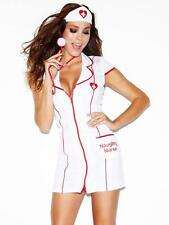 Ann Summers Naughty Nurse Red Outfit Size 14