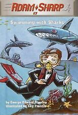 Adam Sharp #3: Swimming with Sharks (A Stepping Stone Book(TM)), Stanley, George