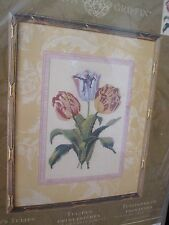 SPRING'S TULIPS  ~ Bucilla Counted Cross Stitch Kit ~ Anna Griffin