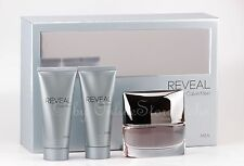 Calvin Klein-CK reveal Men Set - 100ml EDT + 100ml ASB + 100ml SG Nuovo/Scatola Originale