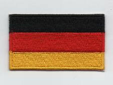 Embroidered GERMANY Flag Iron on Sew on Patch Badge HIGH QUALITY APPLIQUE