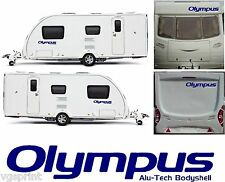 4 X BAILEY OLYMPUS ALU-TECH BODYSHELL DECALS STICKERS CHOICE OF COLOURS