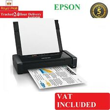 Brand New ORIGINALE EPSON WORKFORCE wf-100w A4 Colour Stampante a getto d'inchiostro