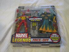 Toy Biz Marvel Legends Face-Off Arch-Enemies Iron Man Vs. Mandarin