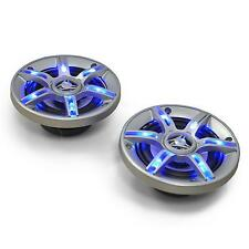 TOP ENCEINTES 3 VOIES SONO AUTO AUNA 13CM KIT COAXIAL CAR HIFI TUNING LED 600W