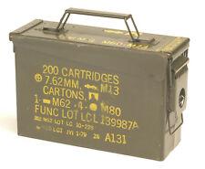 Gebrauchte US Army Munitionskiste Größe 1 Metallkiste GC Versteck Werkzeugkiste