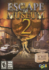 ESCAPE THE MUSEUM 2 II - Hidden Object PC & MAC Game - WinXP/Vista & OSX - NEW!