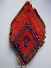 Insigne Losange tissu modèle 1945 Patch  - Armée ORIGINAL France 3