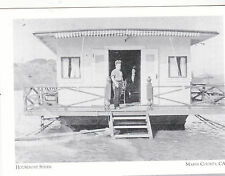 "+PC-Postcard-""Houseboat Stern""-1910-*Marin County Ca./Houseboat/Sausalito (#108)"