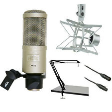 Heil Sound PR 40 Dynamic Cardioid Studio Microphone Bundle