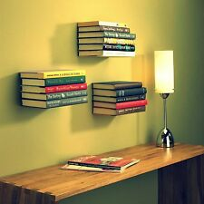Invisible Book Shelf GlossyGrey