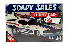 Soapy Sales Funny Car MPC 831 1/25 Dodge Challenger Model Kit
