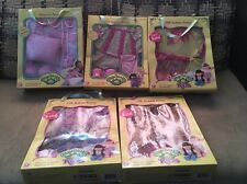 Lot (5) - 2005 Cabbage Patch Kids *CPK FASHION FRENZY* OUTFIT PLAY ALONG SEALED