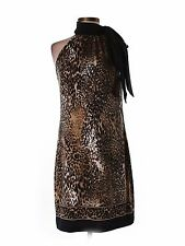 NWT Snap Leopard Print Career Casual A-Line Dress Size Small