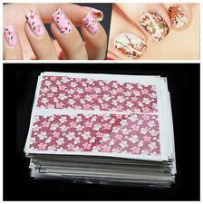 25 Sheets Mixed Designs Water Transfer Nail Art Sticker Watermark Decals