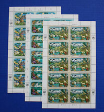 United Nations - 1991 Economic Commission for Europe MNH sheet set