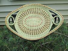 Sweetgrass Oval Fanner Basket