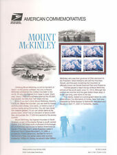 #624 80c Mount McKinley #C137 USPS Commemorative Stamp Panel