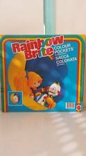 IRIDELLA DOLL RAINBOW BRITE SACCA COLORATA COLOURS POCKETS  MATTEL 80'