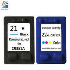 Ink Cartridge 21 22 for HP Officejet J3650 J3680 4315 PSC 1410 1402 D1360 D2460