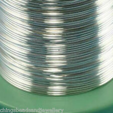 3M Sterling Silver 0.6mm (22 gauge) Round Wire Jewellery Making