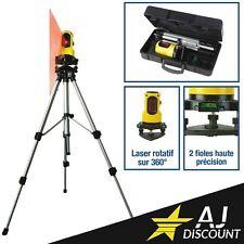 Coffret Niveau Laser Automatique Rotatif 360° - Portée de 10 m - GARANTIE 3 ANS